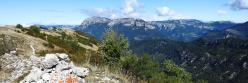 Au sommet de la Grésière (La montagne du Glandasse)