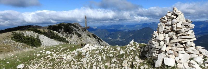 Au sommet de la montagne de la Lance