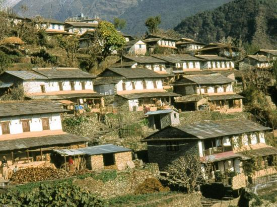 Le village gurung de Ghandruk