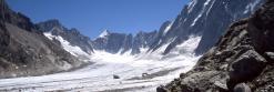 Sur le glacier d'Argentière