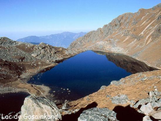 Le premier lac de Gosainkund