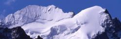 La Barre des Ecrins vue depuis l'itinéraire d'ascension de la Grande Ruine
