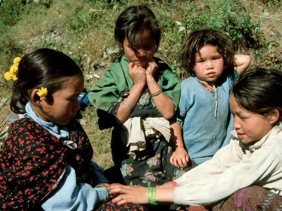 Enfants à Hindung