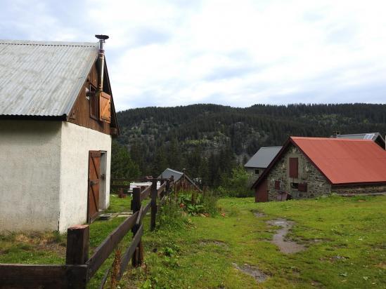 Le hameau du Poursollet