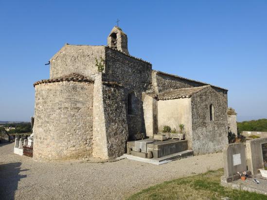 L'église Saint-Pierre de Peyrus