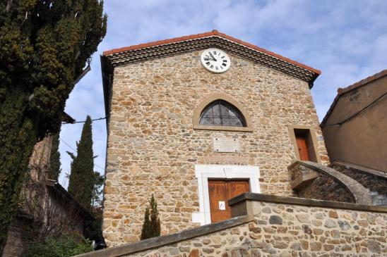 L'église de Ponsas