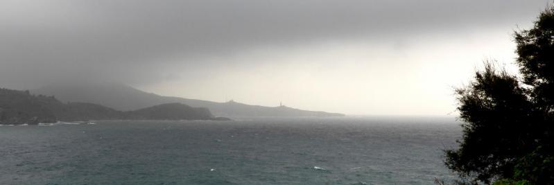 Avis de gros temps sur le Cap Béar