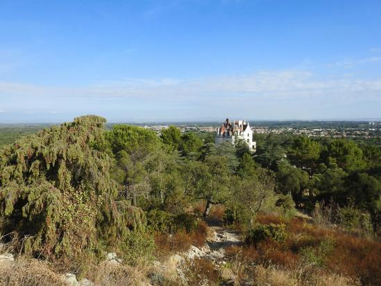 Au départ du château de Valmy (Argelès)