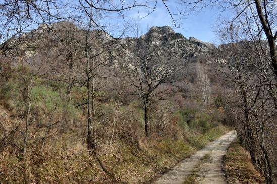 Dans la vallée de l'Eyzarette entre La Cure et Fondoresse