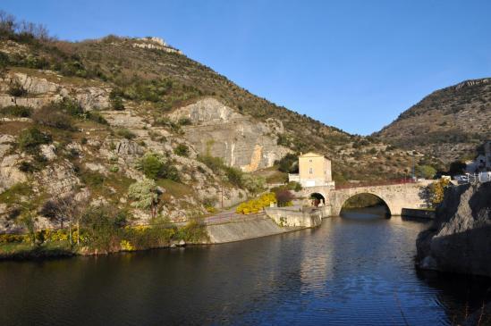 Le Pouzin (le pont romain sur l'Ouvèze)