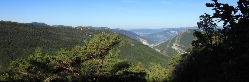 Entre le col de l'Abbaye et le col Fauchard (la vallée de la Drôme et Die)