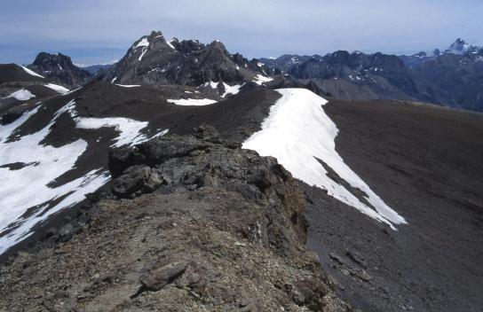Le sommet S de la Mortice (3169m)