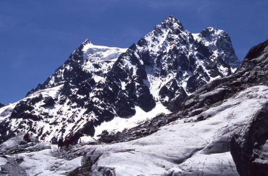 Sur le Glacier Blanc (Pelvoux)