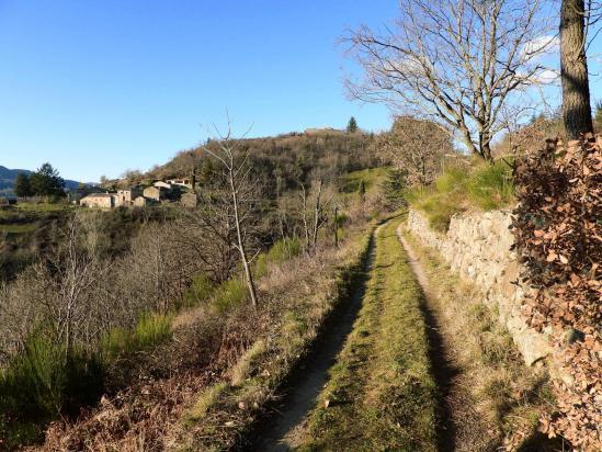 A l'approche du hameau de Tremoulet