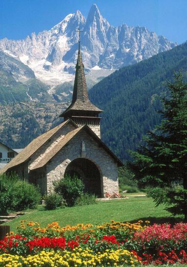 Retour dans la vallée de Chamonix aux Praz
