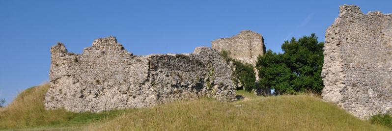 Le vieux village de la Baume-Cornillane