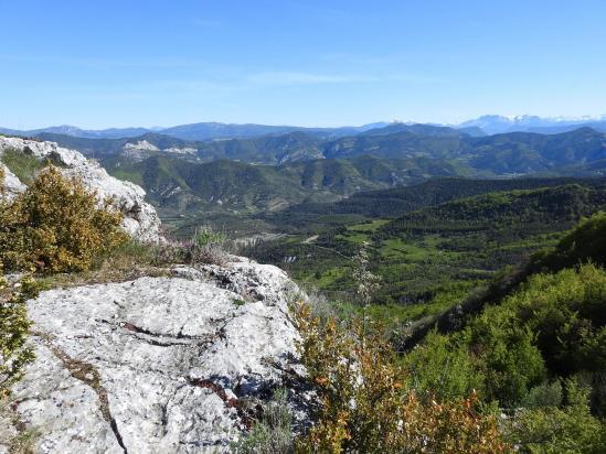 Sur le belvédère à 1317m sur le chemin du col du Lavavour