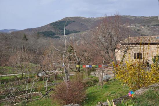 Magerouan (derrière, c'est le sommet des Gouleyres)