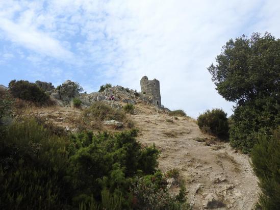 A l'approche de la Torre de la Maçana