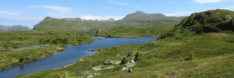 Sur le Plateau des Lacs (Lac Fourchu et Grand Galbert)
