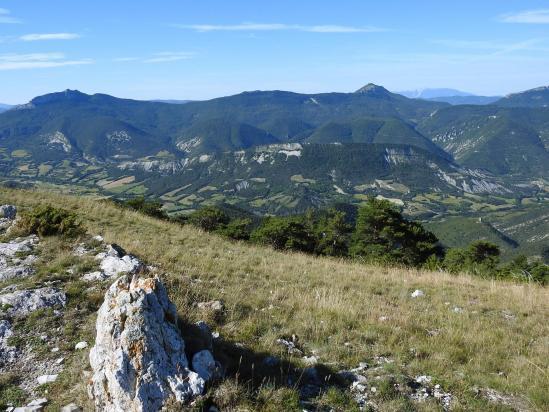 Entre le col de Bruis et le Serre de Beaupont (vallée de l'Oule)