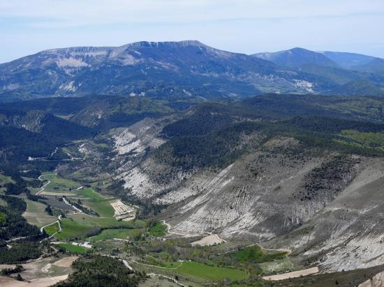 La montagne d'Angèle vue depuis le Pas de la Sambiaou