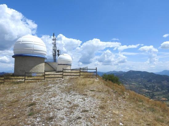 Le Cosmodrôme au sommet de la montagne de Bergiès