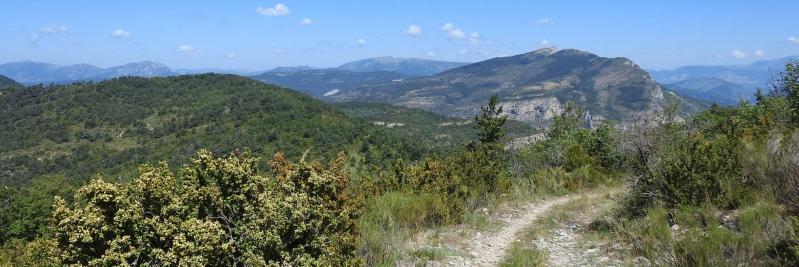 A l'approche du sommet du Suillet (Montagne de l'Aup et Rocher de Beaumont)