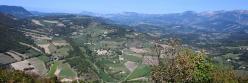 Panorama depuis le sommet de la montagne de Ruy
