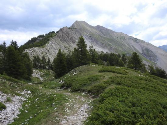 La Petite Autane vue du sentier d'ascension au sommet du Cuchon