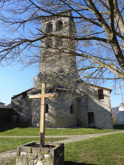 Jaillans (l'église Ste Marie)
