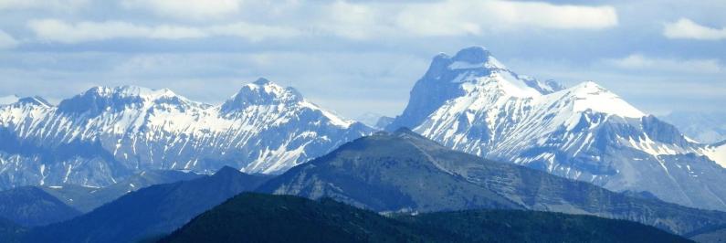 Vue sur le Dévoluy (Grand Ferrand)