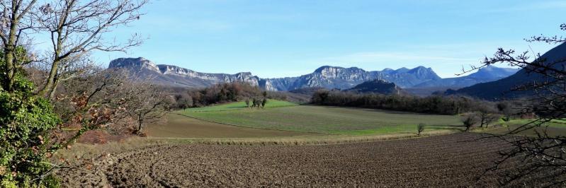 Entre Saudon et Dufond, le synclinal de Saoû