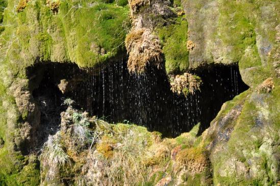 La cascade du Chatelat dans les gorges d'Omblèze