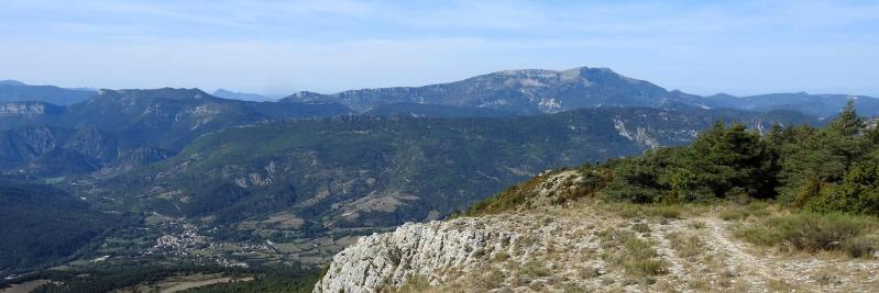 Au sommet de la montagne des Ruelles (montagne d'Angèle)