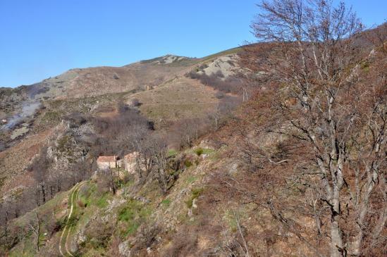 La ferme de la Grangette (haute vallée du ruisseau de Gamondès)