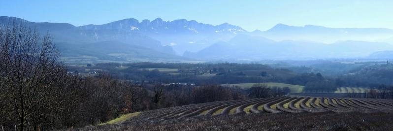 Vue étendue depuis le col de Blacheronde
