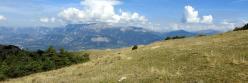 Sur les crêtes de la montagne d'Aucelon