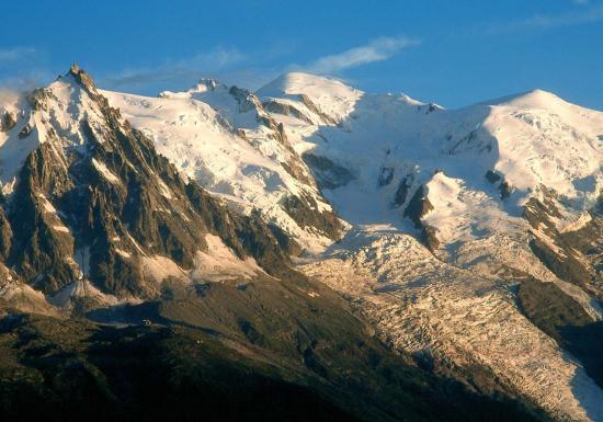 Le Mont-Blanc après l'orage