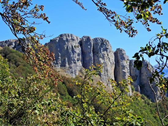 Les rochers de Chironne