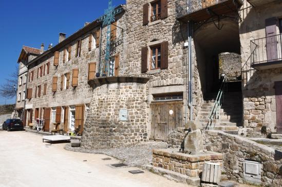 Chalencon (place du Valla)