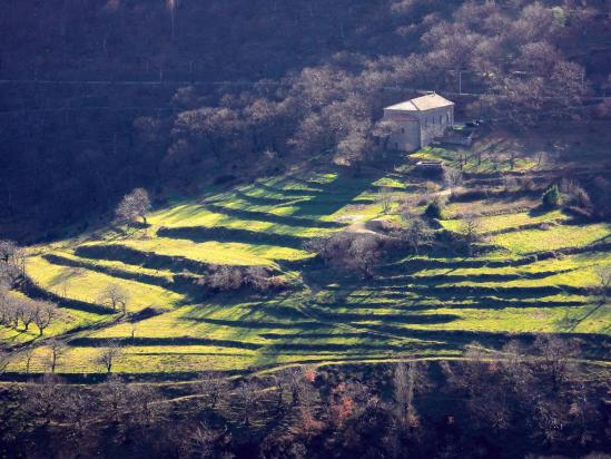 Le temple du Fival en RD de la vallée de l'Orsanne