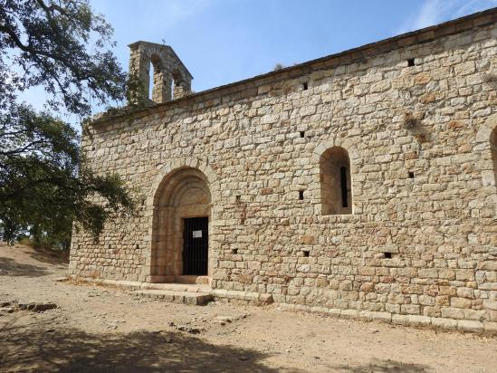 Lors de la descente, passage à la chapelle Saint-Laurent-du-Mont