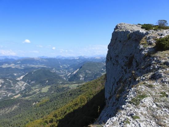 Descente du sommet n°3 de Tarsimoure vers le col de la Caille