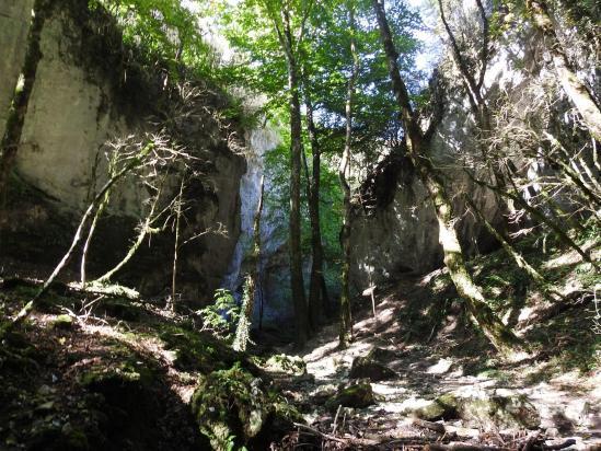 Dans le canyon des Gueulards