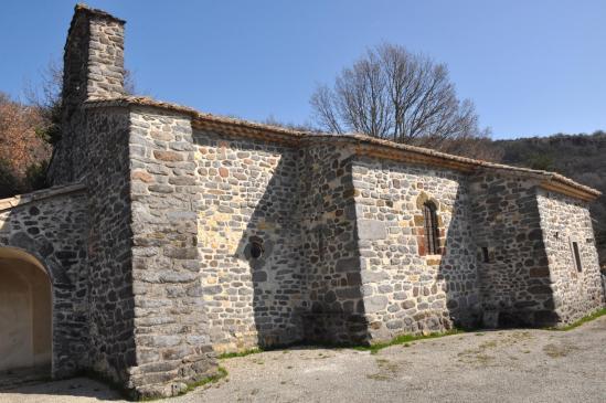 L'église de Saint-Pierre-la-Roche