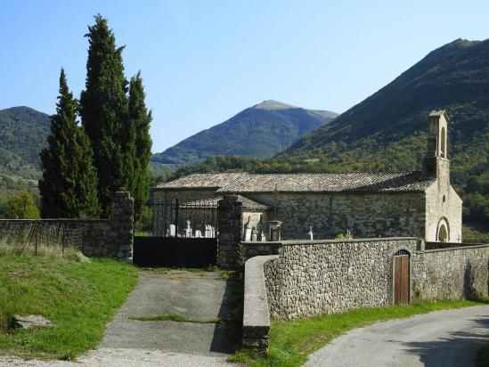 L'église Saint-Pierre de Vesc