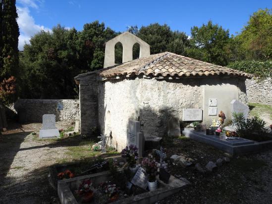 La chapelle Notre-Dame de la Roche (à visiter...)