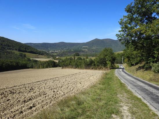 Sur la route de Cobonne