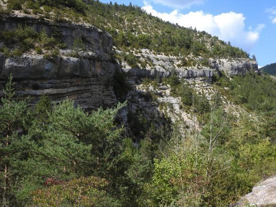 Sur la route d'accès à Charens (retour vers la vallée de la Drôme)